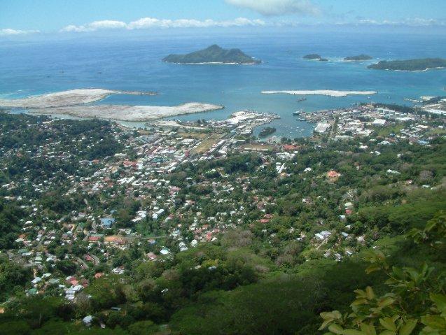 Mahé la bella capital de Seychelles