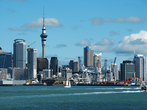 Auckland y la Sky Tower