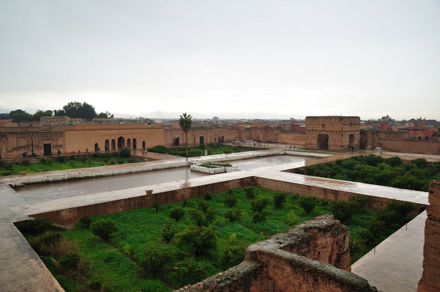 El Palacio Badi en Marrakech