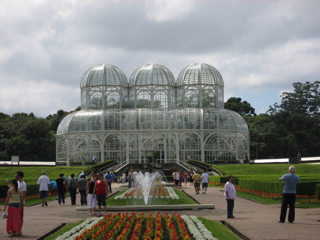 Jardin botanico de Curitiba