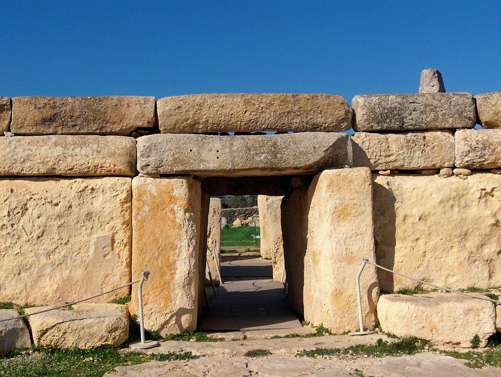 MALTA- templo megalítico