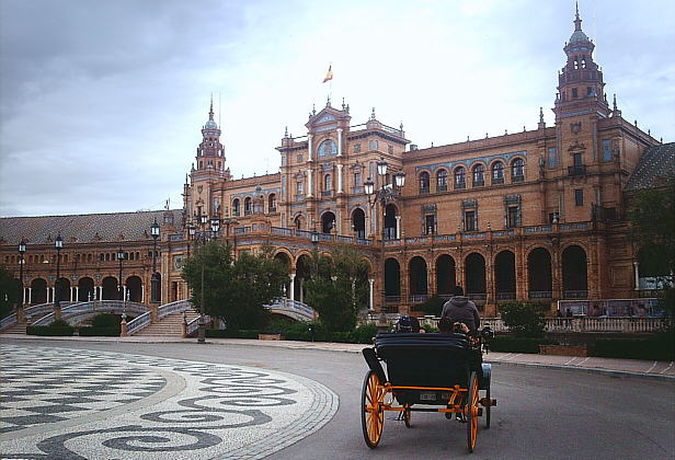 Plaza de España - Parque de María Luisa