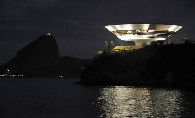 El Museu de Arte Contemporanea de Niterói