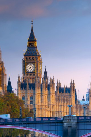 La Torre del Reloj del Parlamento, Londres