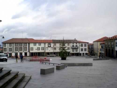 La vieja Praça Luís de Camões