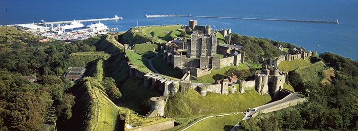 El castillo de Dover, un ejemplo de la arquitectura medieval ...