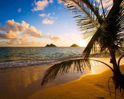 playa lanikai en hawaii