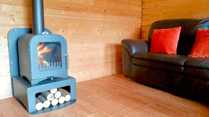 La Mejor Calefacción Para Las Cabañas En Invierno
